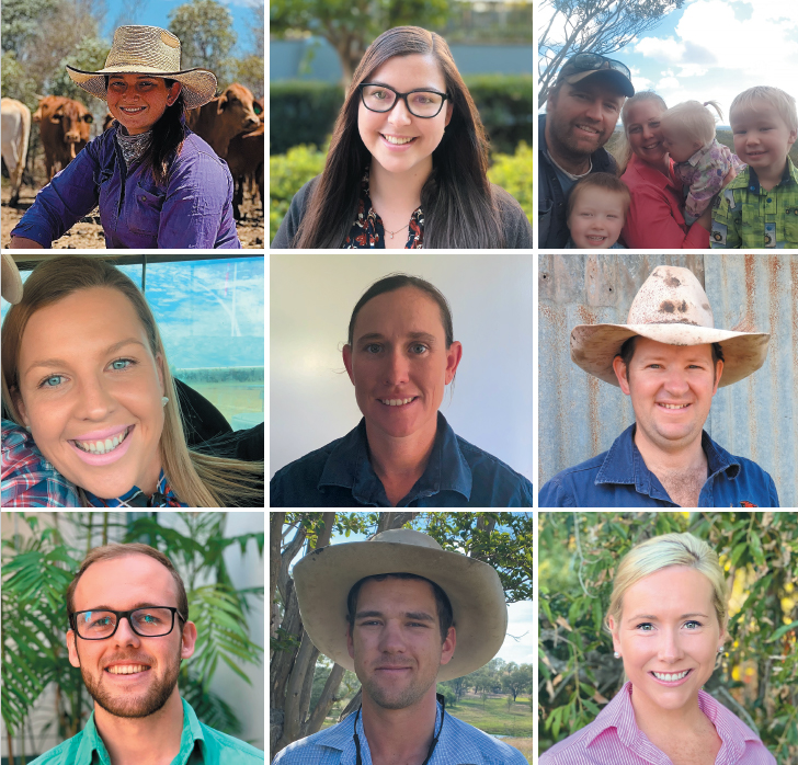 AgForce Young Producers Council members