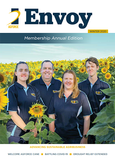 Envoy winter 2020 edition cover page